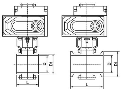 卫生级电动蝶阀属于快速拆装阀,使阀门打开和维修快捷容易,使过程停机